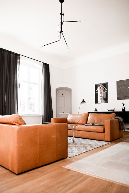 Camel Leather Sofas Inspiration And Sources Interior