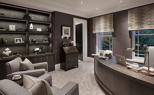 lovely modern home office design | WENTWORTH by SOPHIE PATERSON INTERIORS | Interior Cravings ...