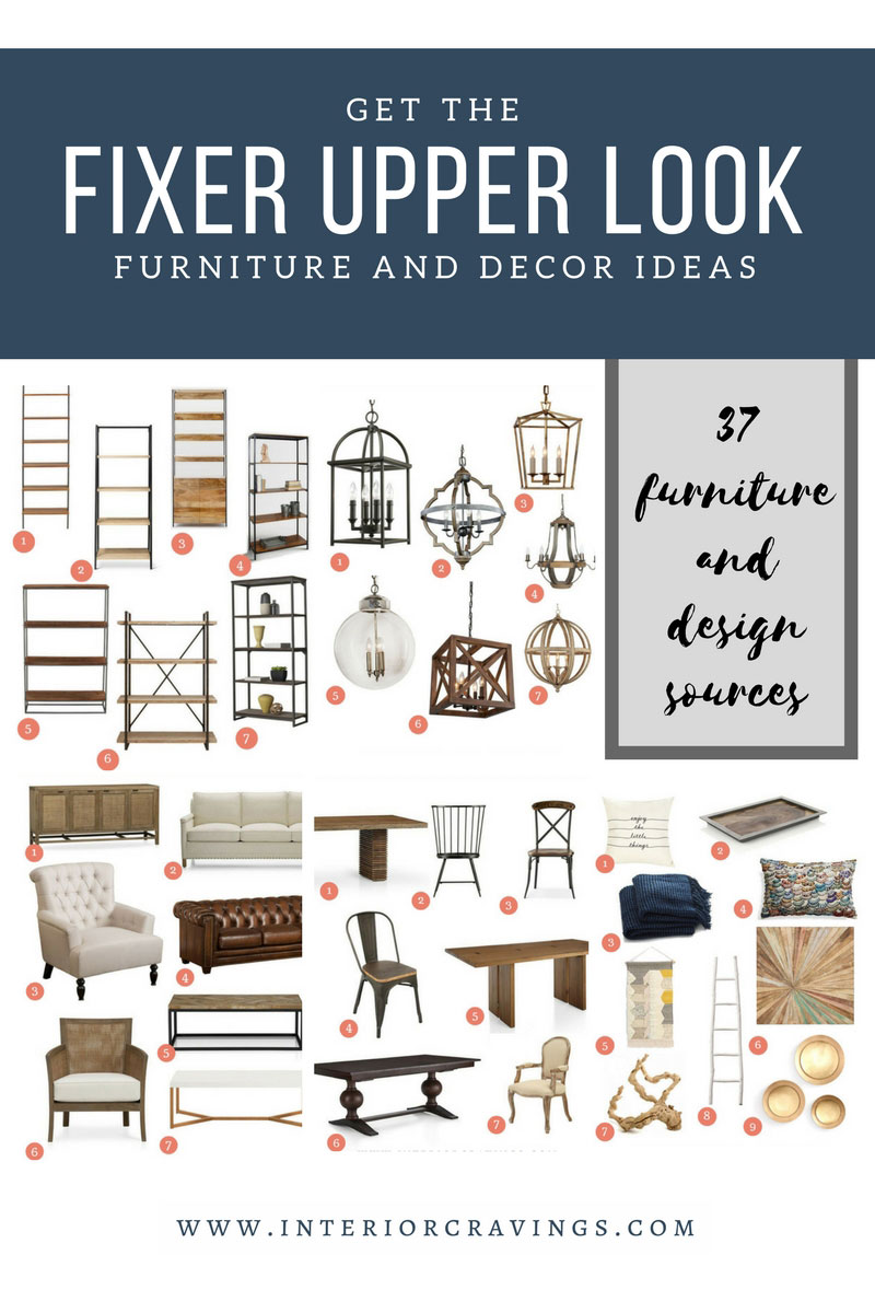 get the fixer upper look furniture and decor ideas interior cravings. Black Bedroom Furniture Sets. Home Design Ideas