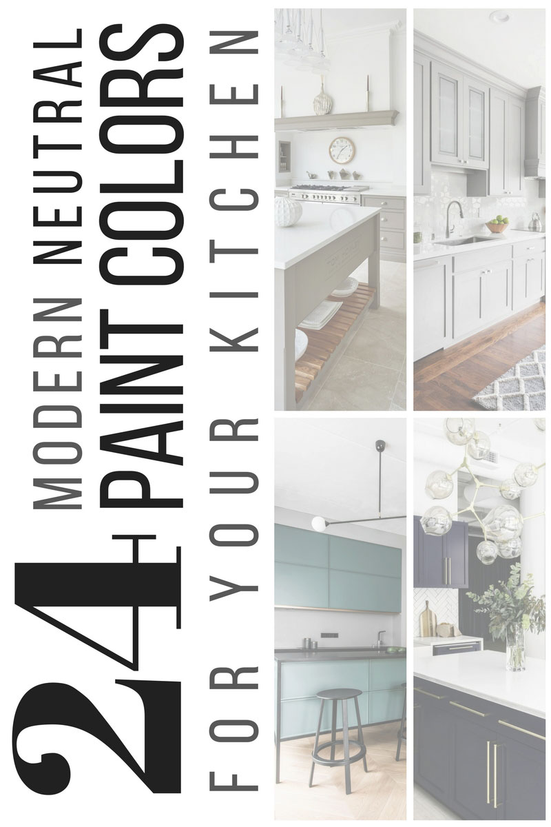 24 modern neutral paint colors for your kitchen remodel interior cravings - Modern paint colors for kitchen ...
