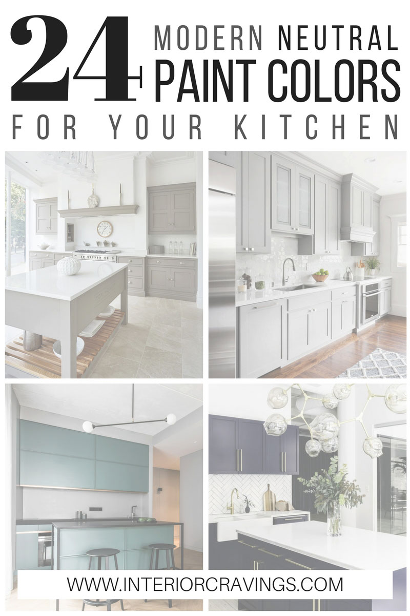 24 modern neutral paint colors for your kitchen remodel for Rich neutral paint colors