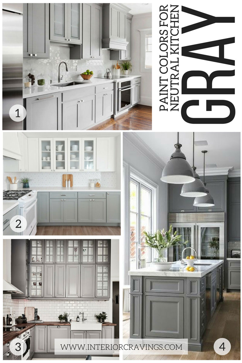 24 MODERN NEUTRAL PAINT COLORS FOR YOUR KITCHEN REMODEL Interior Cravings