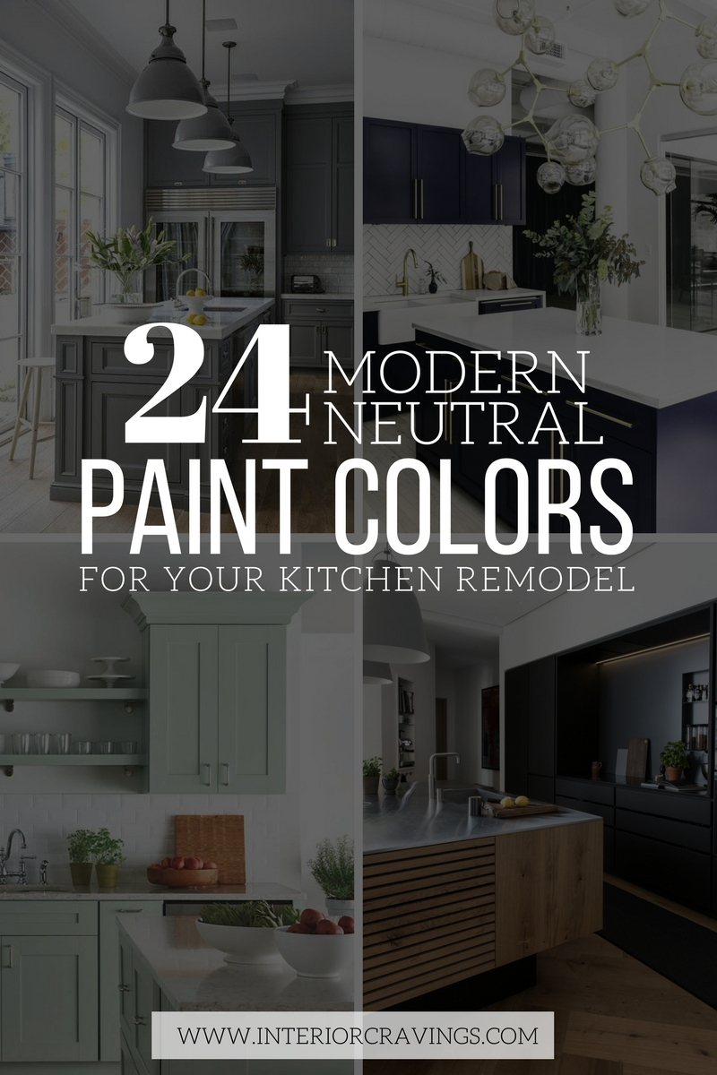 Modern interior paint colors - 24 Modern Neutral Paint Colors For Your Kitchen Remodel Interior Cravings Home Decor Inspiration Interior Design Tools And Diy Design Courses