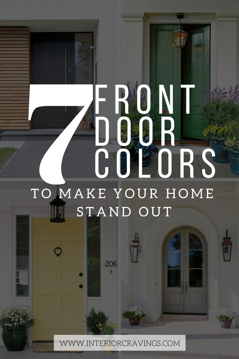 7 Front Door Colors To Make Your Home Stand Out Interior