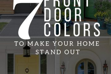 7 FRONT DOOR COLORS TO MAKE YOUR HOME STAND OUT